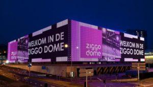 Ziggo Dome met ontruimingsinstallatie