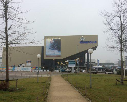 Bioscoop in Utrecht met ontruimingsinstallatie