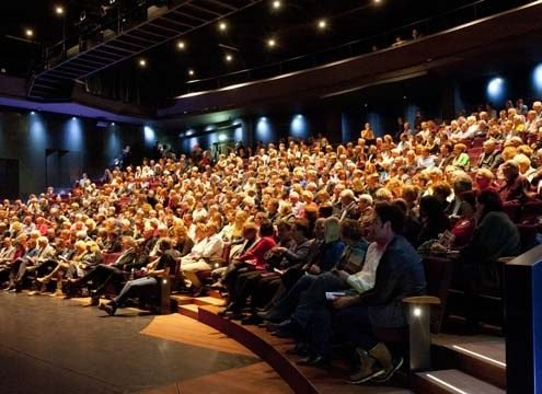 Ontruimingsinstallatie in theater De Vest in Alkmaar